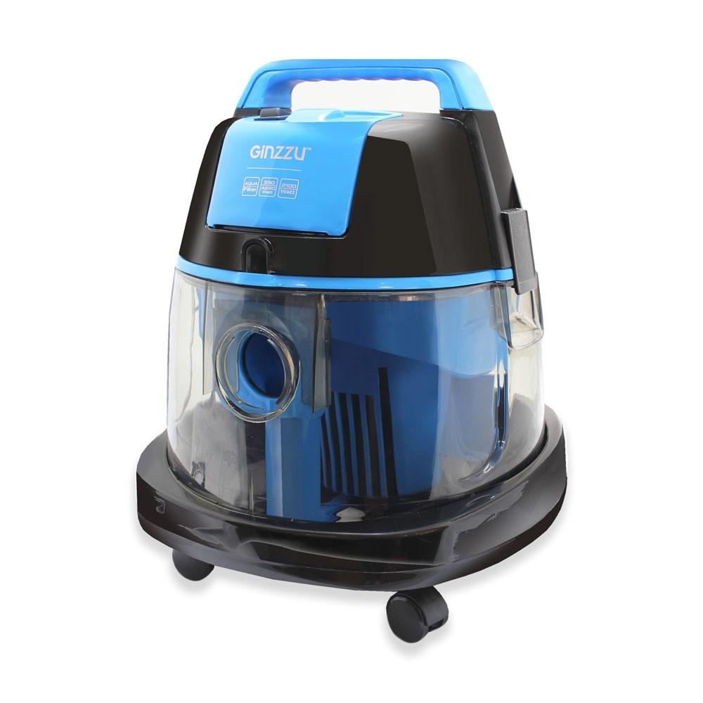 Пылесос с аквафильтром Ginzzu VS521