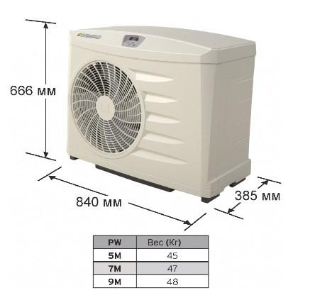 Тепловой насос Zodiac Z 200 M4 (POWER 9)