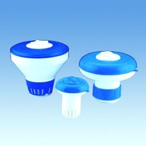 Плавающий дозатор для таблеток трихлора или кислорода A