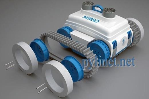 Робот для чистки бассейна Caiman NEMH20 DELUXE