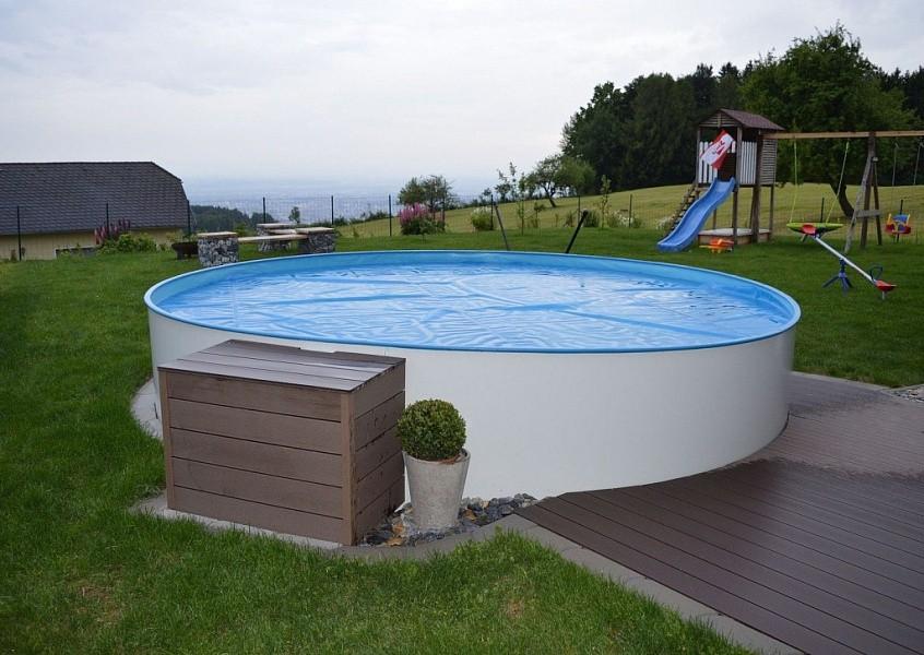 Круглый бассейн Zodiac РИО 400х120