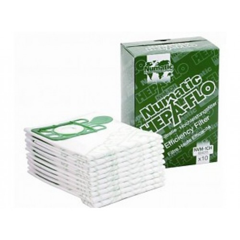 Мешки пылесборные Hepaflo объемом 9 л для Numatic