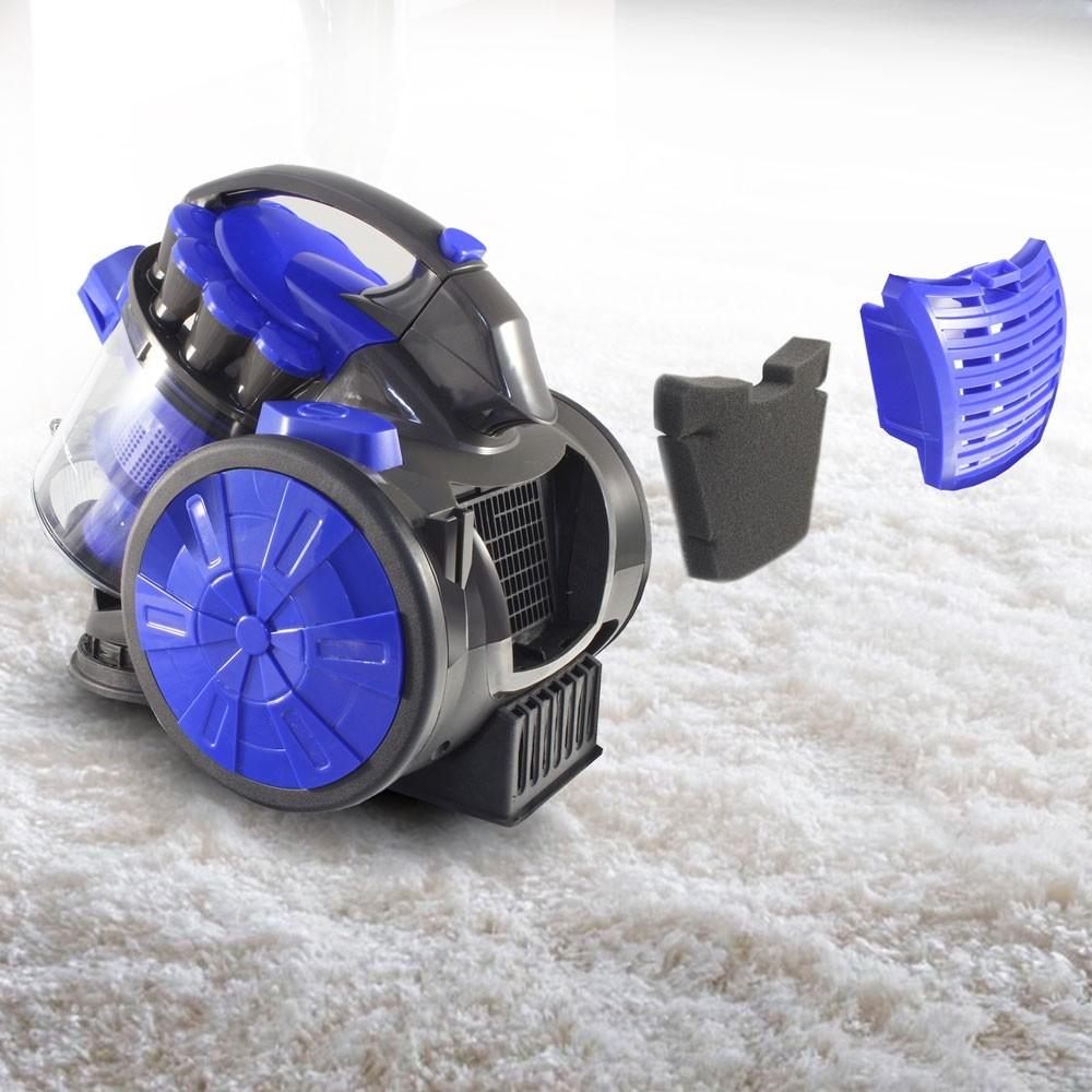 Пылесос Ginzzu VS419 синий