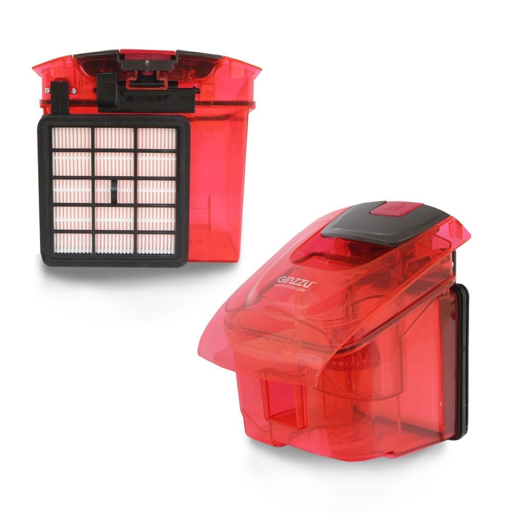 Пылесос Ginzzu VS429 красный