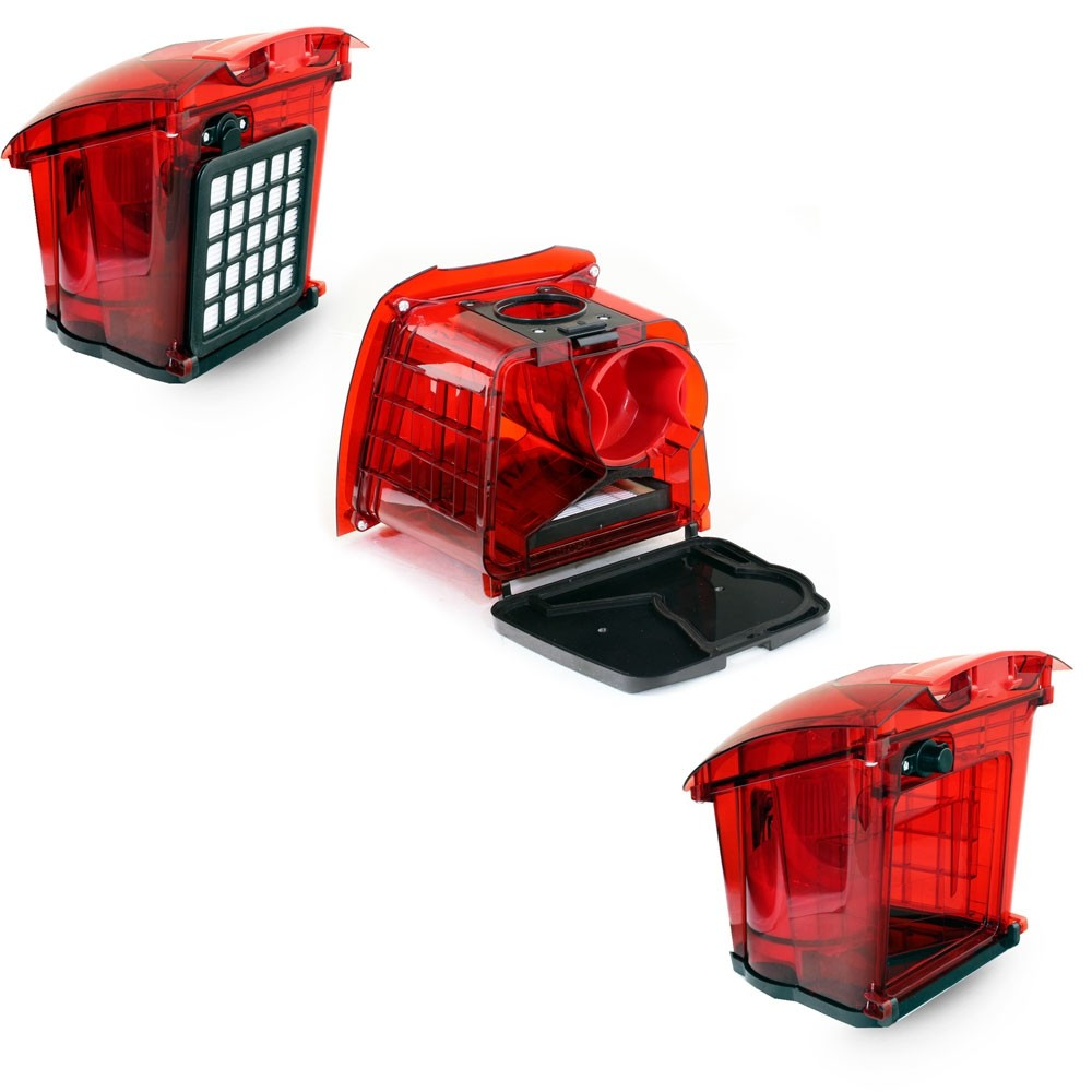Пылесос Ginzzu VS437 красный
