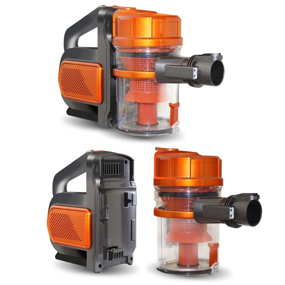 Пылесос Ginzzu VS401 оранжевый
