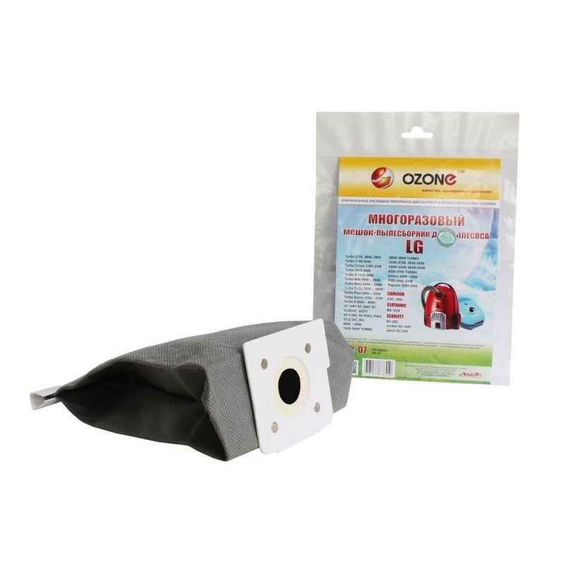 Многоразовый мешок-пылесборник OZONE MX-07 для пылесосов LG