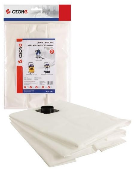 Мешок-пылесборник OZONE MXT-329/3 для пылесосов GISOWATT, NILFISK, 3 шт.