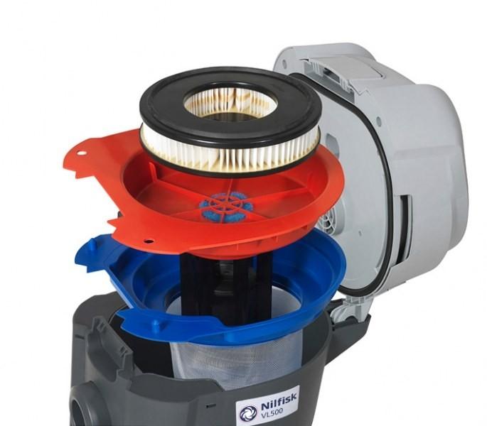 Пылеводосос Nilfisk Advance VL500 55-2 BDF (2 турбины)