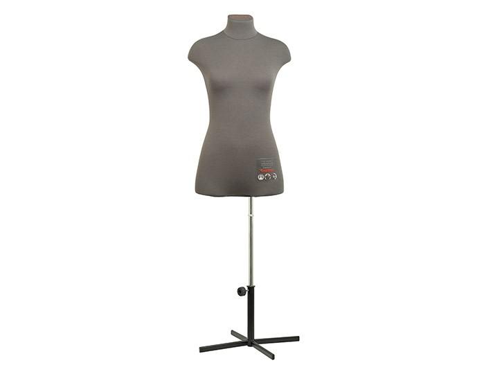 Профессиональный портновский манекен CHAYKA, размер 42, серый
