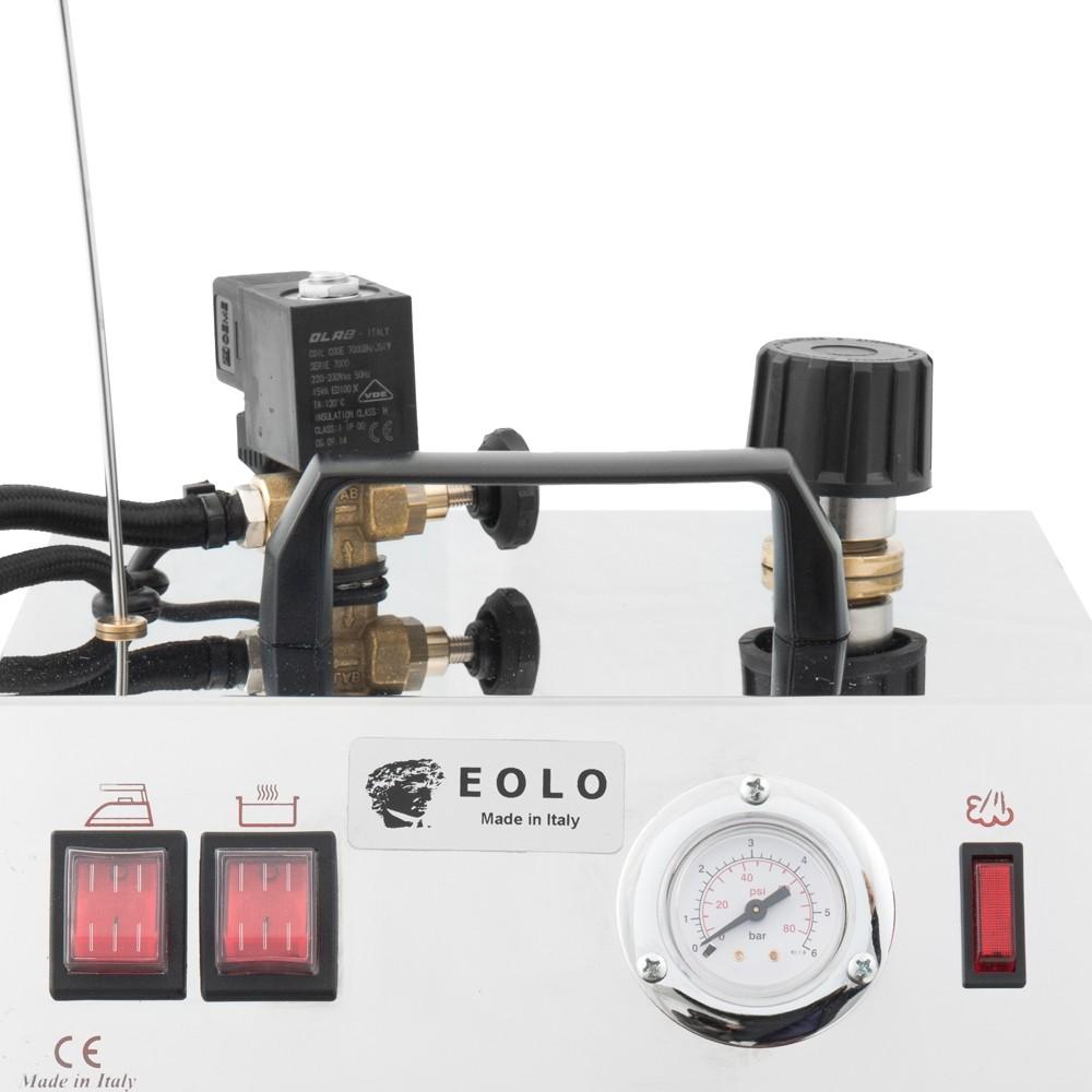 Профессиональный парогенератор EOLO AV-03 с паровой щёткой