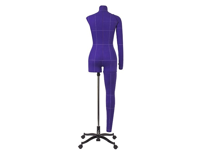 Манекен женский мягкий портновский Monica Art, фиолетовый